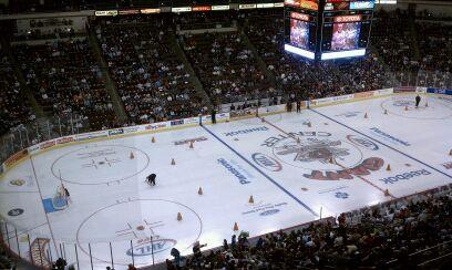 View from Press Box at AHL All-Star Classic