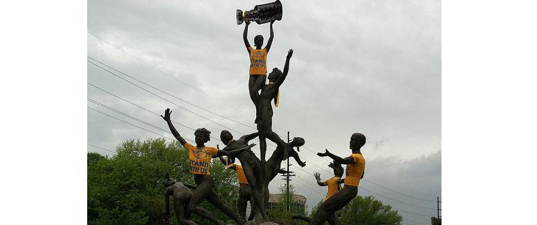 Musica Statue Preds