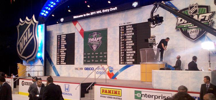 2011 Draft board