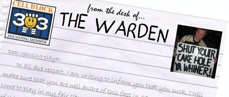 From the desk of The Warden 2