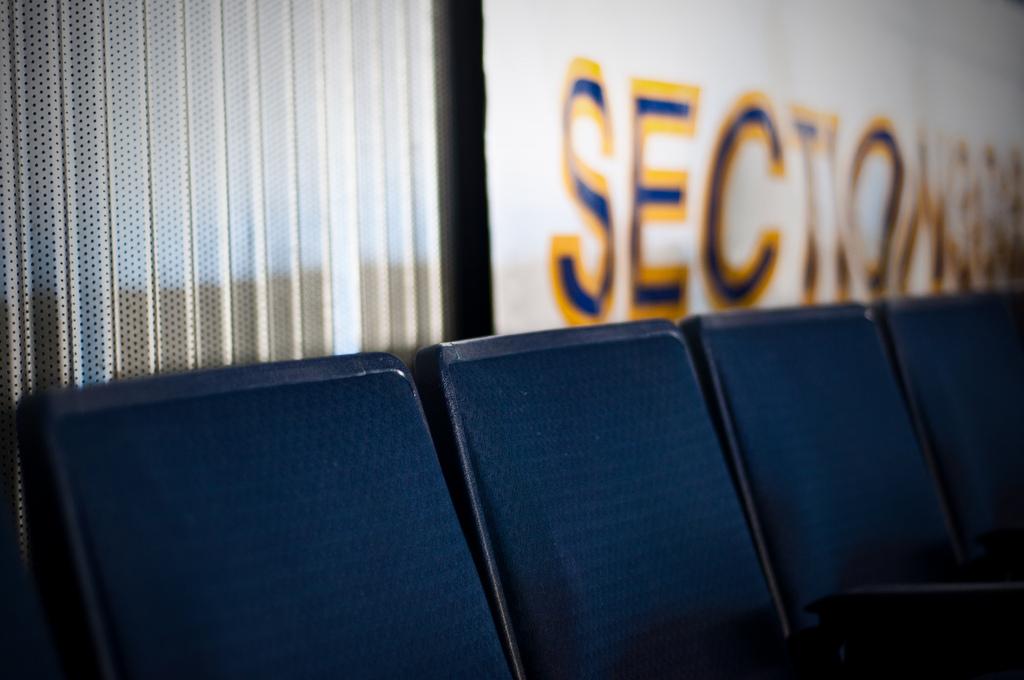 Row S, Seats 1+2