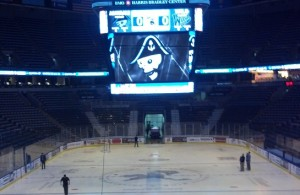 Bradley Center pre-game
