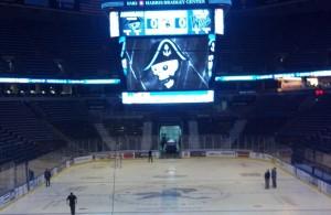 Bradley Center pre-game