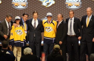 Kevin Fiala on draft stage