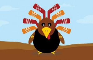 Thanksgiving hockey turkey