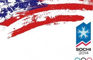 USA flag (paintbrush) banner