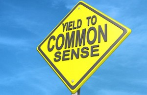 common sense sign JPG